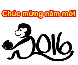 Chúc mừng năm mới Bính Thân 2016