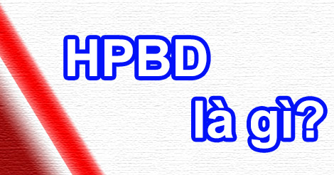 Hpbd có nghĩa là gì?