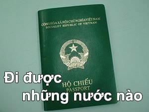 Hộ chiếu Việt Nam đi được bao nhiêu nước và miễn visa những nước nào?