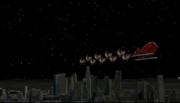 2 - Theo dõi đường đi phát quà của ông già Noel ở đâu?