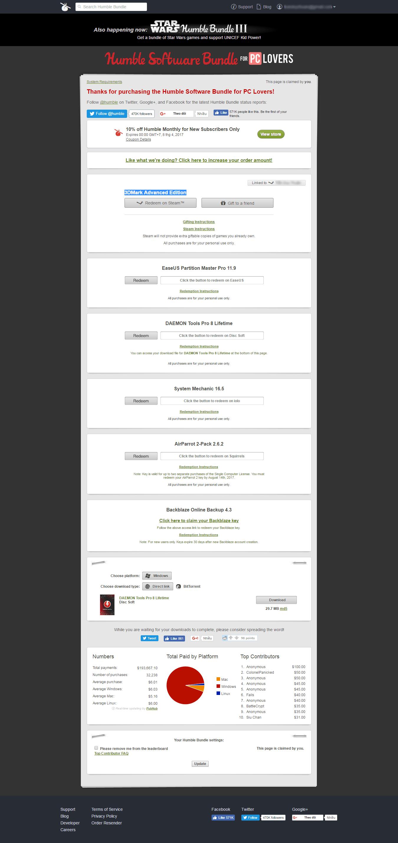 21 - Hướng dẫn mua game - bundles trên Humblebundle