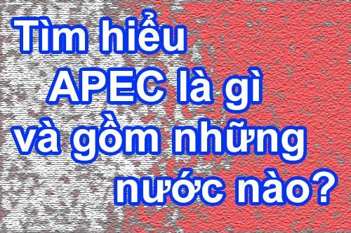 Tìm hiểu APEC là gì và APEC gồm những nước nào?