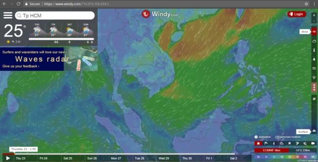 8 - Dự báo thời tiết nhờ những web thời tiết miễn phí cực hay