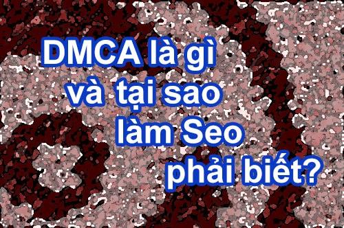DMCA là gì và tại sao làm Seo phải biết?