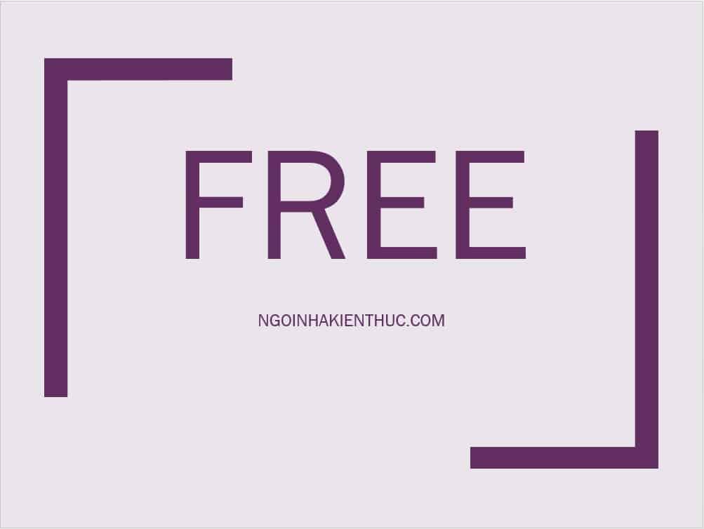 2 - Free là gì và cách dùng phổ biến trong tiếng Anh và tiếng Việt?