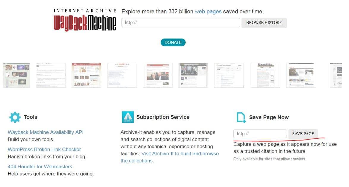 4 - Internet Archive - Wayback Machine là gì và dùng để làm gì?