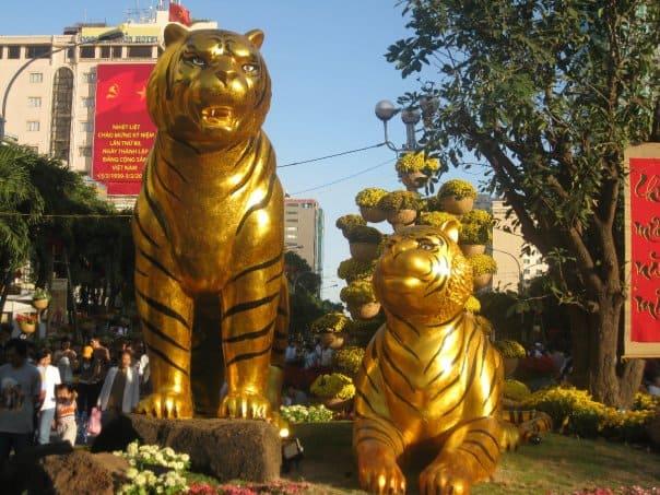 2 - Đường hoa Nguyễn Huệ tại Sài Gòn - TPHCM ở đâu, năm nay có gì mới?