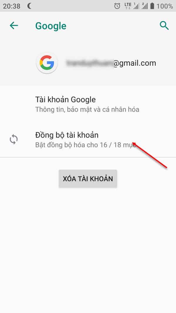 7 - Cách khôi phục lại danh bạ đã xóa trên Gmail, điện thoại Android mới nhất