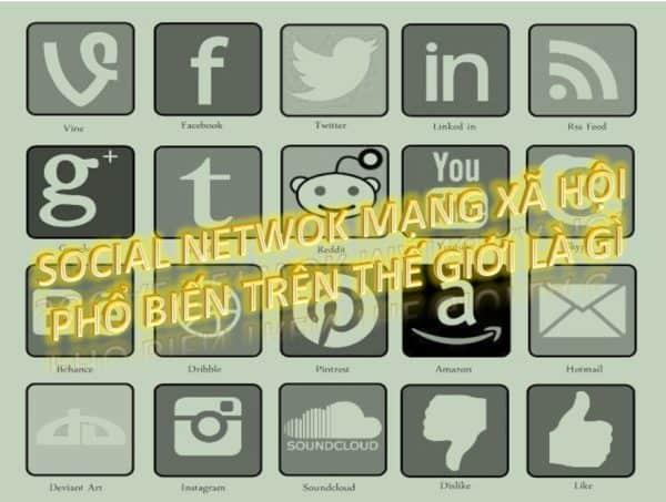 3 - Mạng xã hội có bao nhiêu loại và cái nào phổ biến nhất