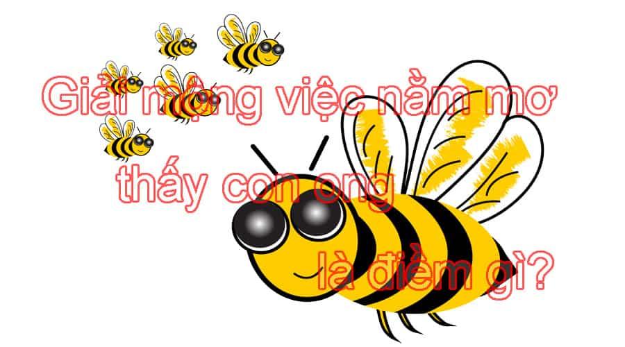 Giải mộng việc nằm mơ thấy con ong là điềm gì?