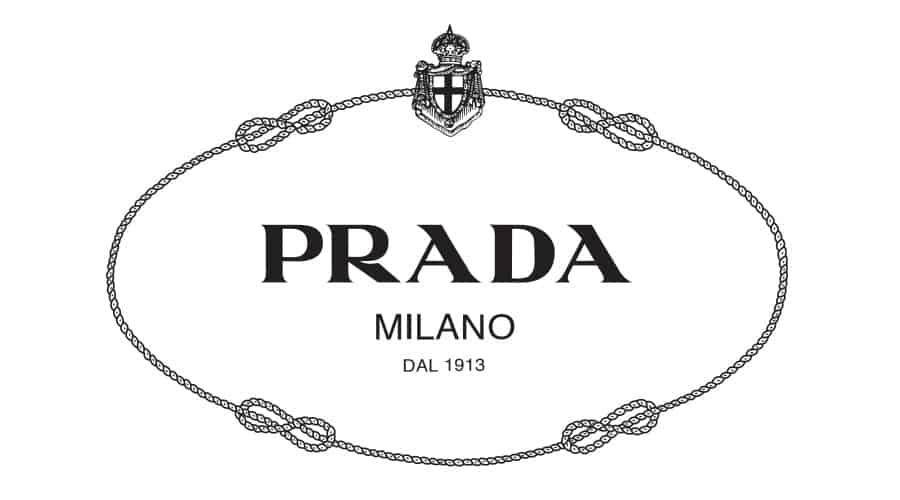 Logo Prada xưa