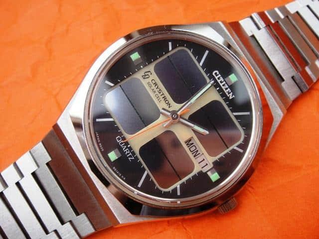 Đồng hồ Citizen Crystron 8620 solar